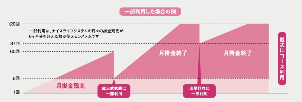 図 | 一部利用した場合の例